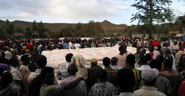 WFP resumes food distribution in Tigray
