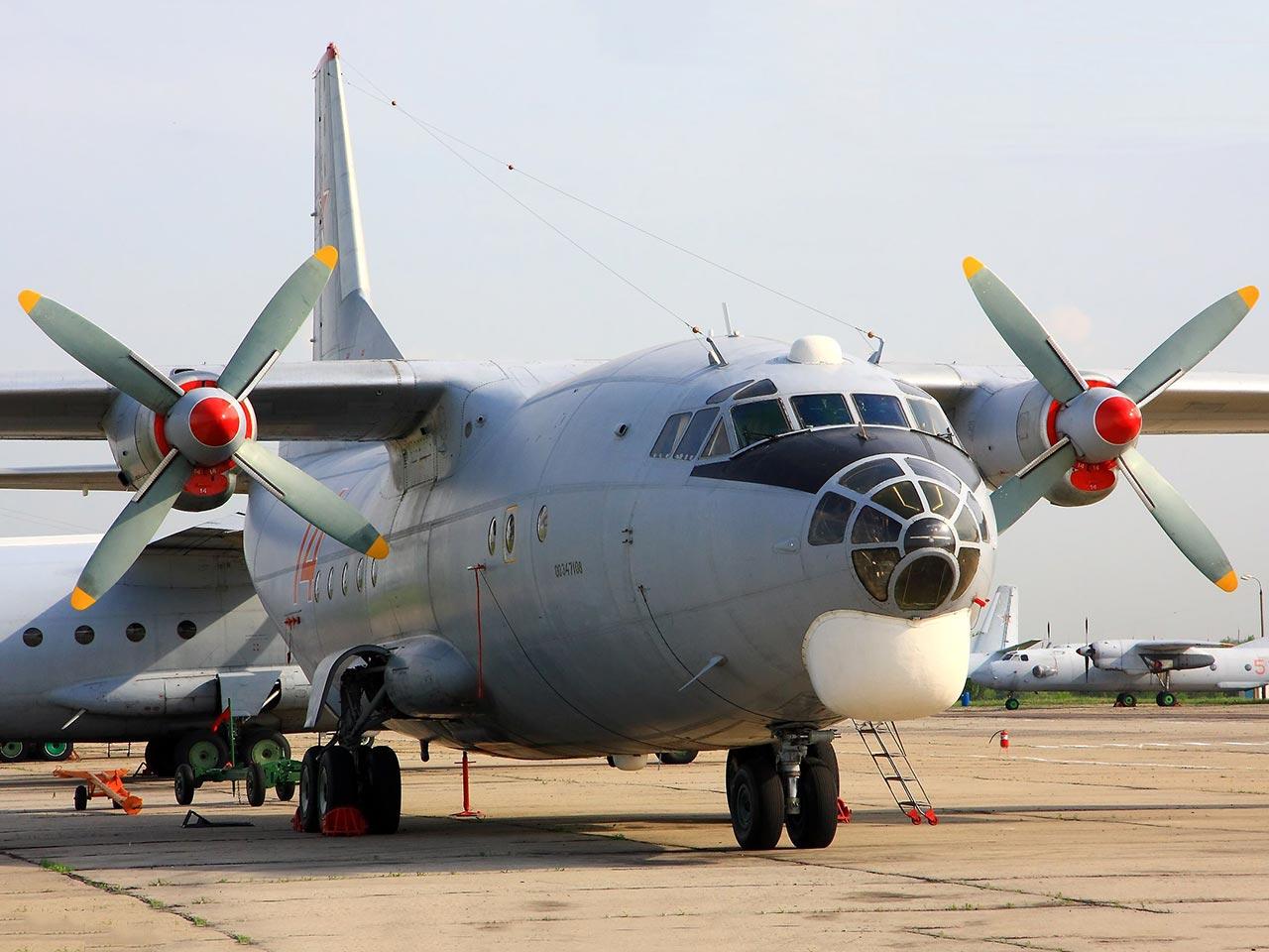 A Russian Antonov AN-26 missing