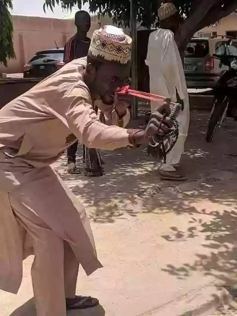 Members of Katsina chapter of PDP mocking order by Governor Masari to villagers to defend themselves against bandits with Operation Catapult