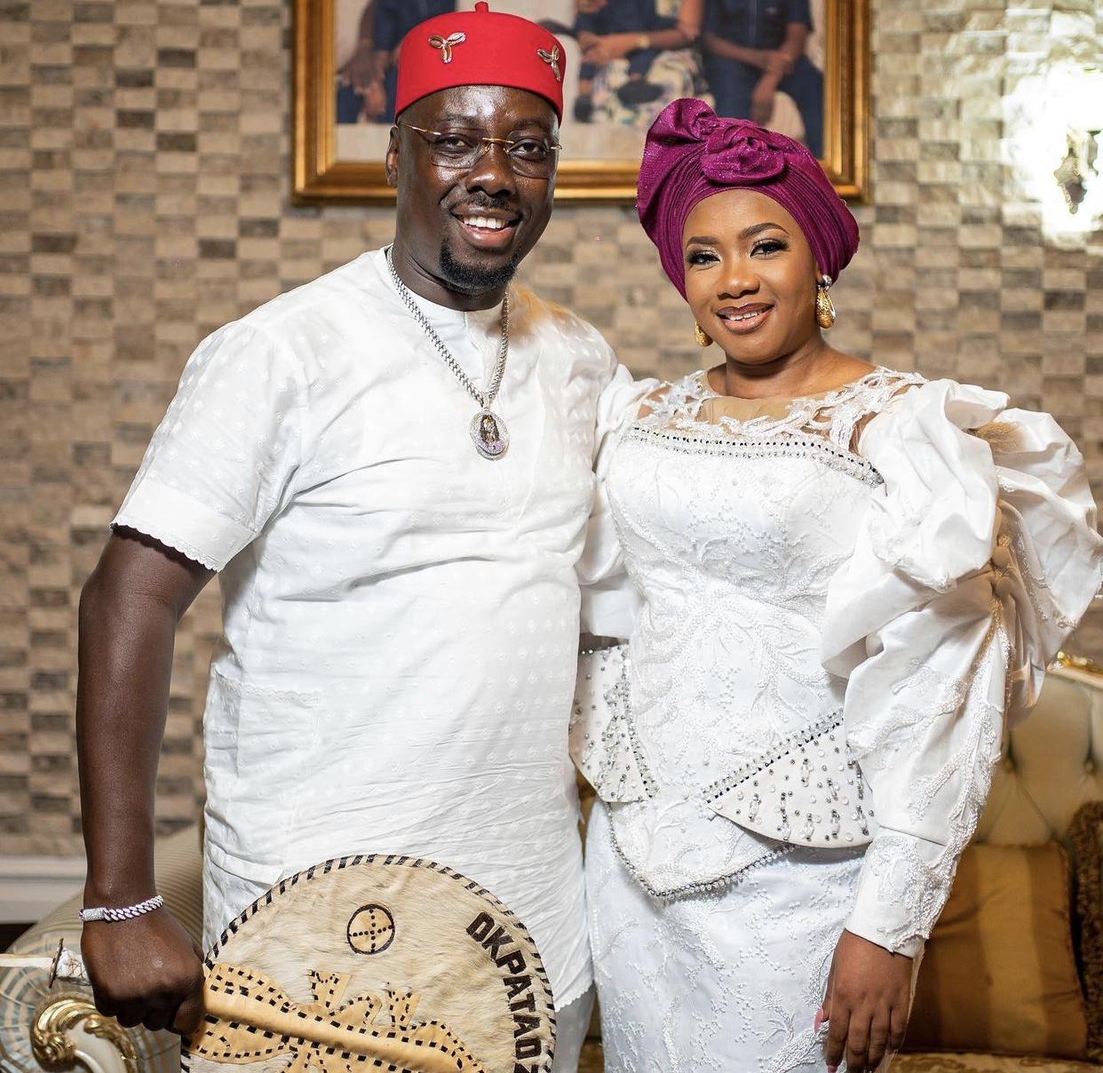 Obi Cubana and wife Ebele