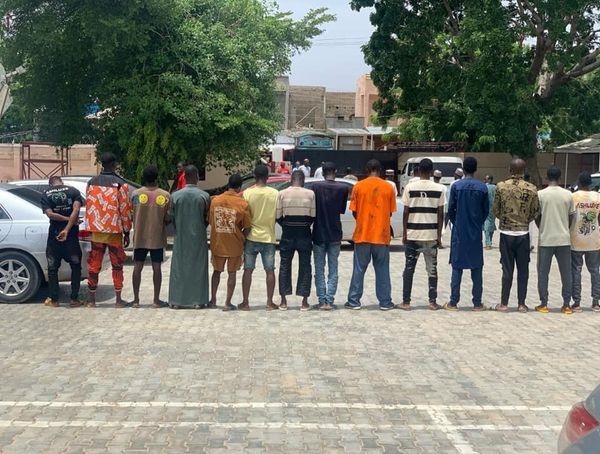 20 suspected internet fraudsters busted in Katsina
