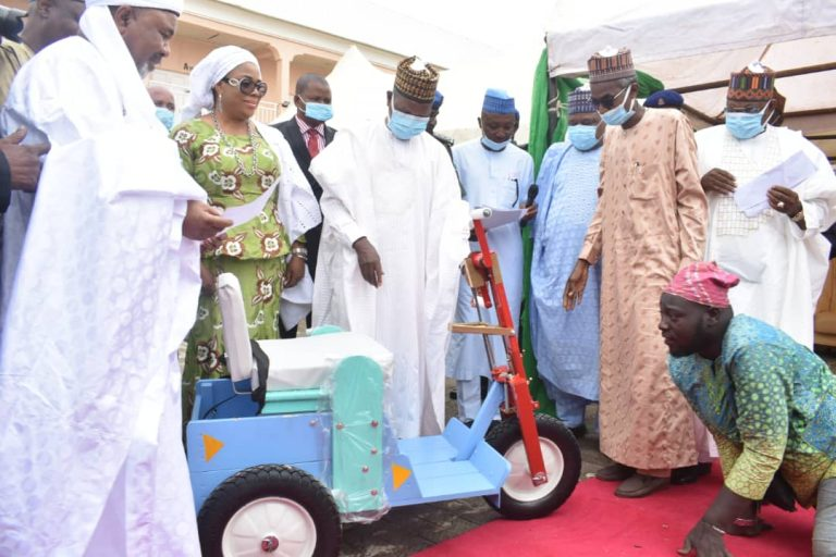 Gov. Masari donates wheelchairs to 200 physically challenged persons