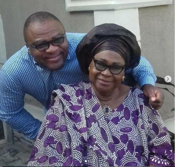 Nollywood actor Jide Alabi loses mum