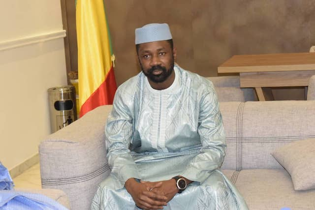 Mali interim president Assimi Goita