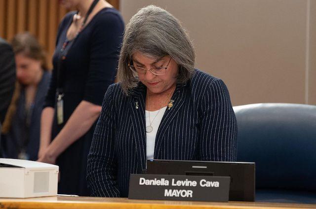 Miami-Dade  county Mayor Daniella Levine Cava gives update on collapsed Florida condo