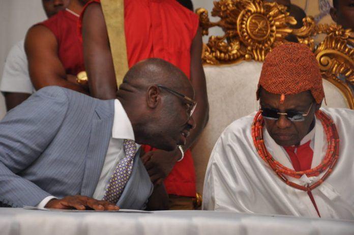 Oba of Benin and Obaseki
