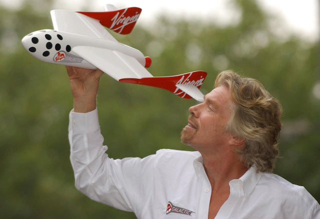 Richard Branson: lives his dream of going to space