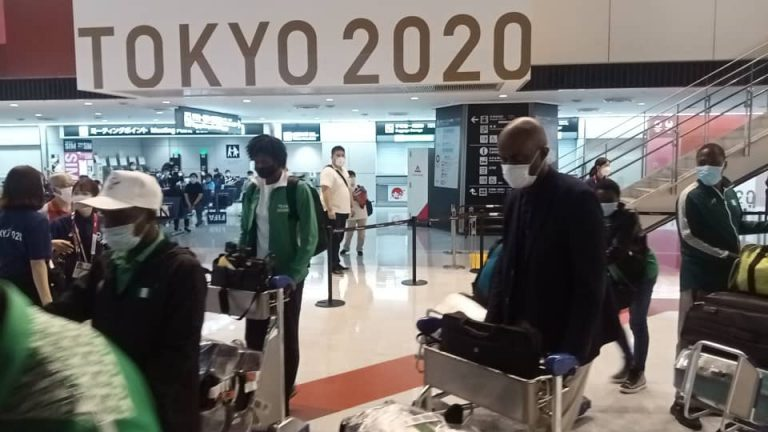 Second batch of Nigeria's Olympic team on arrival in Tokyo