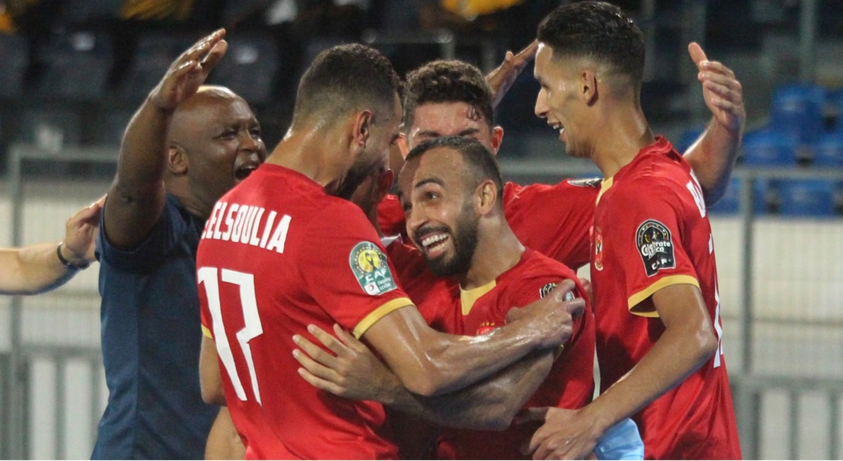 Al Ahly players show joy of winning 10th CAF Champions League title