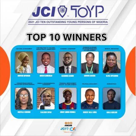 Taaooma, Asisat Oshoala, others to receive JCI TOYP award
