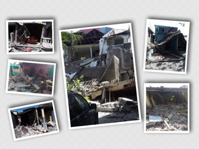 Haiti ruined by earthquake