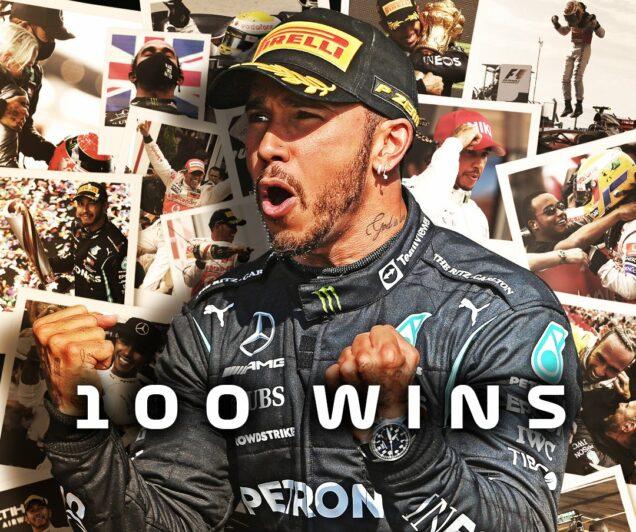 Hamilton overtakes Verstappen, records 100th win - P.M. News