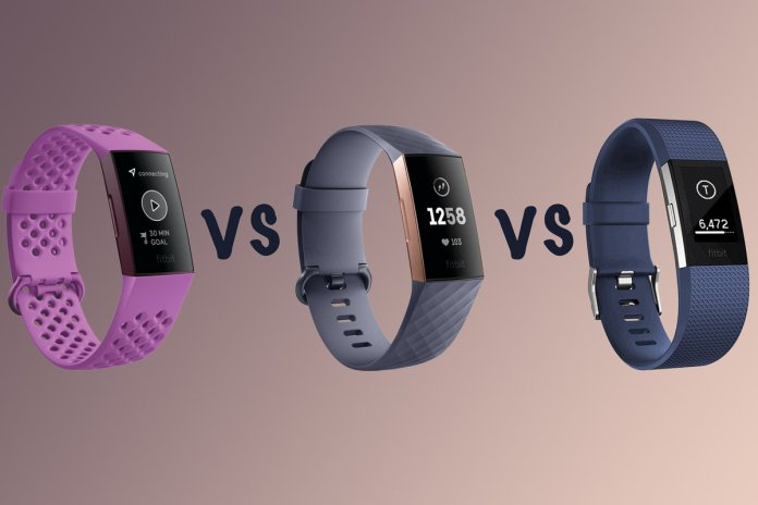 Fitbit Charge 4 Vs Charge 3 Vs Charge 2 The Differences
