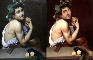 Hilarious Images Of Celebrities Photoshopped Into Renaissance Paintings image 11