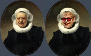 Hilarious Images Of Celebrities Photoshopped Into Renaissance Paintings image 18