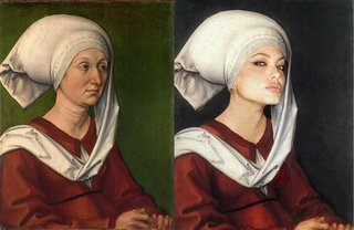 Hilarious Images Of Celebrities Photoshopped Into Renaissance Paintings image 24