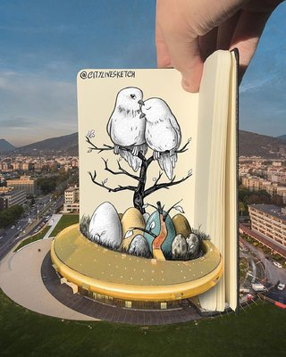 This Artist Changes Your Perspective Of The World With Incredible Sketches image 11