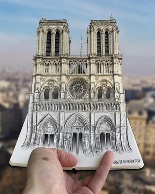 This artist changes your perspective of the world with incredible sketches image 2