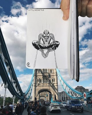 This Artist Changes Your Perspective Of The World With Incredible Sketches image 21