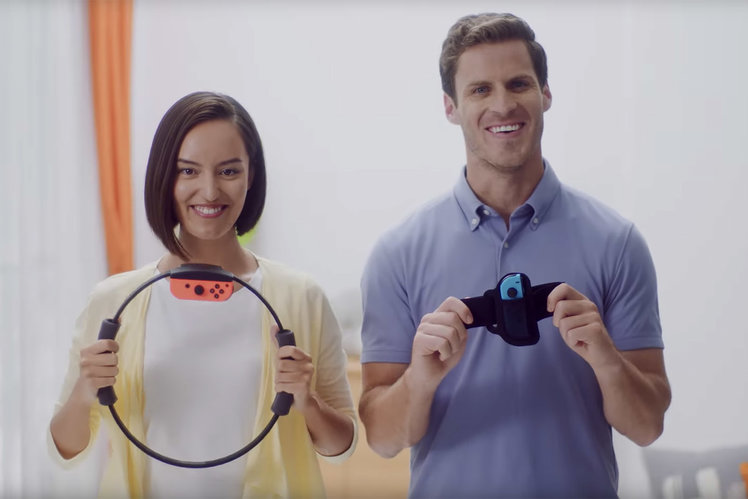 Mystery Nintendo Switch Exercise Accessory Is Called Ring