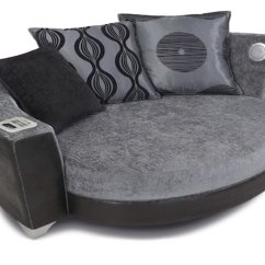 Dfs Sofas Gray Sofa Furniture With Built In Ipod And Mp3 Dock