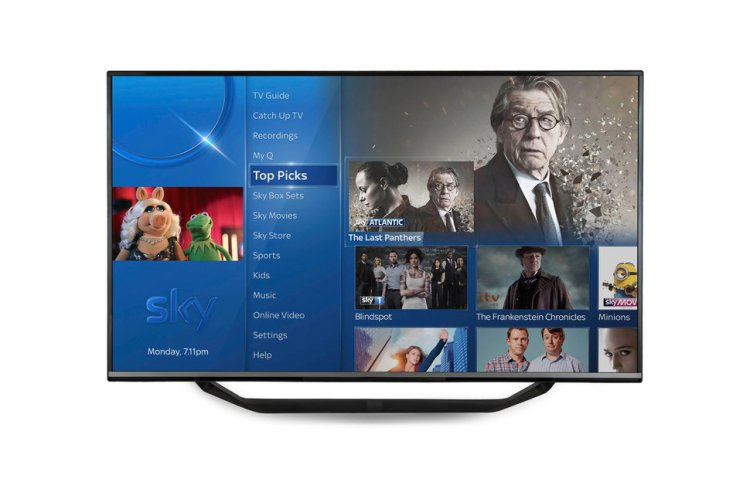 Sky Q - Top Picks - Dans TV