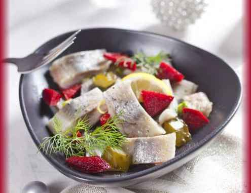 Polish style herrings for New Years Eve Party - Polishnews.com