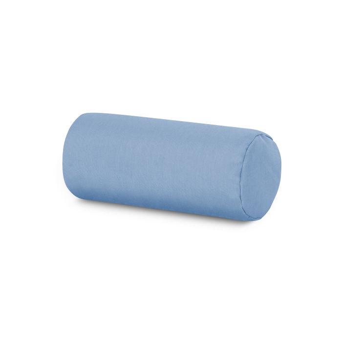 outdoor bolster pillow in air blue
