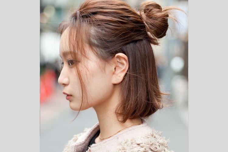 Model Rambut Pendek Wanita Korea Yang Bisa Menginspirasi