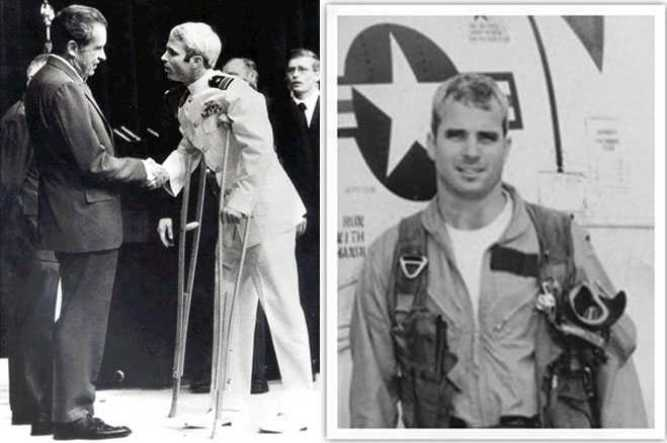 Image result for McCain and Viet Nam