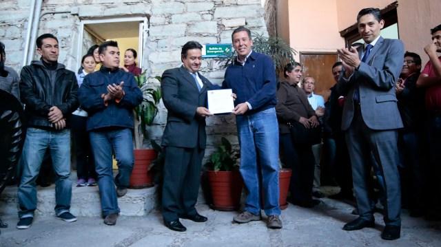 Enrique Avilés y Miguel Márquez. Foto: Gobierno del Estado.