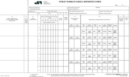 Quickbooks Payrolls: Certified Payroll Forms Excel