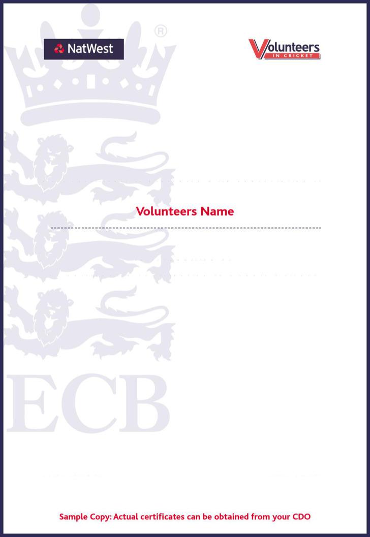 6+ Volunteer Certificate Templates Free Download