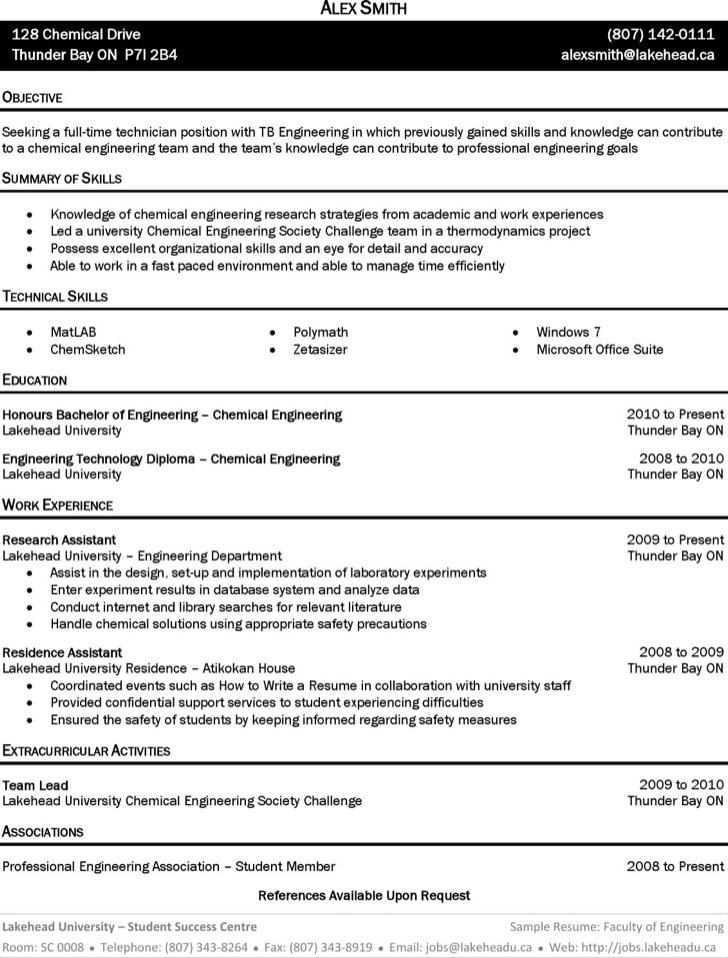 general resume sample refrigeration design engineer sample resume