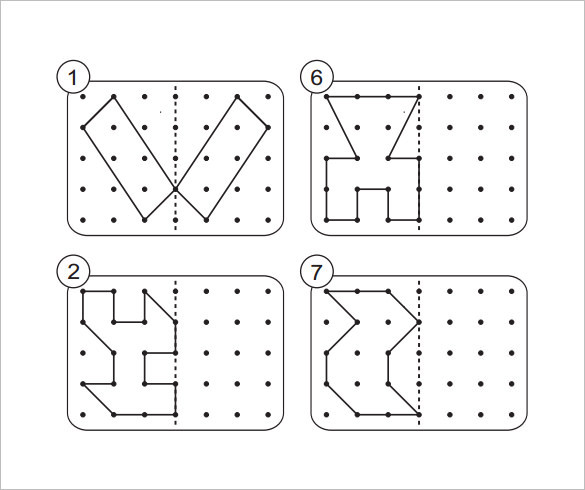 7+ Reflective Symmetry Worksheet Templates Free Download