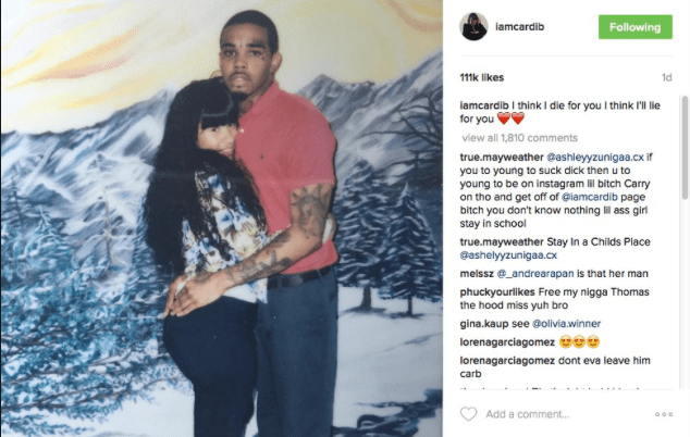 Cardi B's Longtime Ex Boyfriend Tommy Was Released From