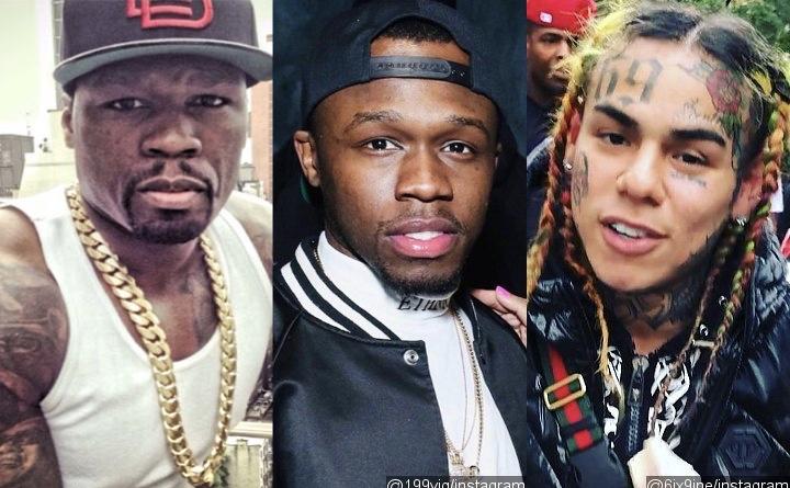 50 Cent's Son Marquise Jackson Responds To Father Choosing Rat Tekashi 6ix9ine Over Him