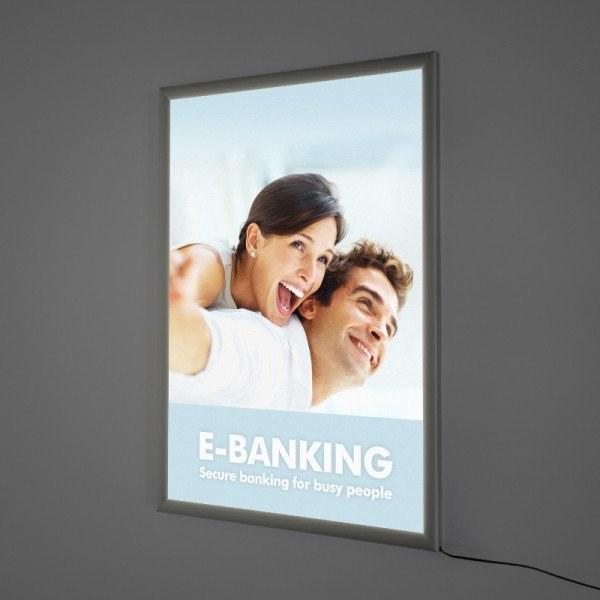 led lightbox poster frames