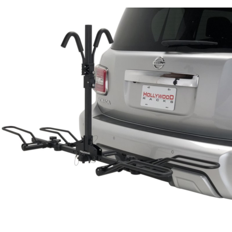 hollywood hr200z trail rider 2 bike hitch rack fits 1 25 and 2 hitches