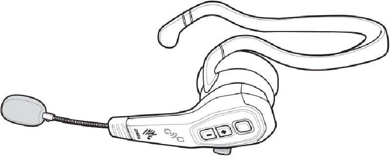 Headset Bluetooth Zebra