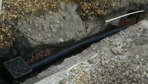 drain tile sewer and drainage pipe