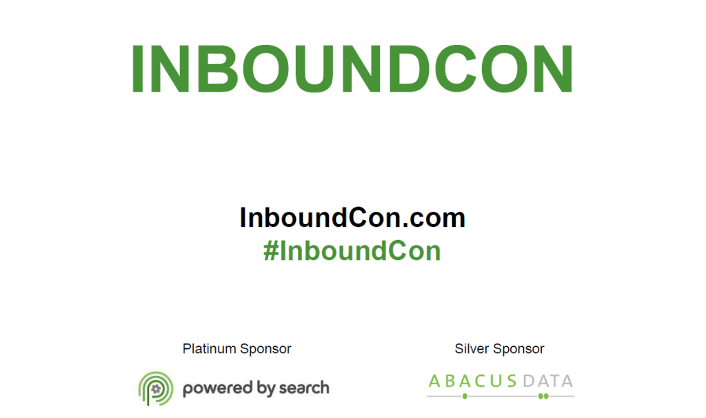 InboundCon1 1024x606 Inbound Marketing Is Conquering Canada: InboundCon Recap