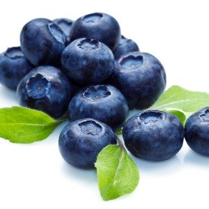 blueberry throat chakra foods