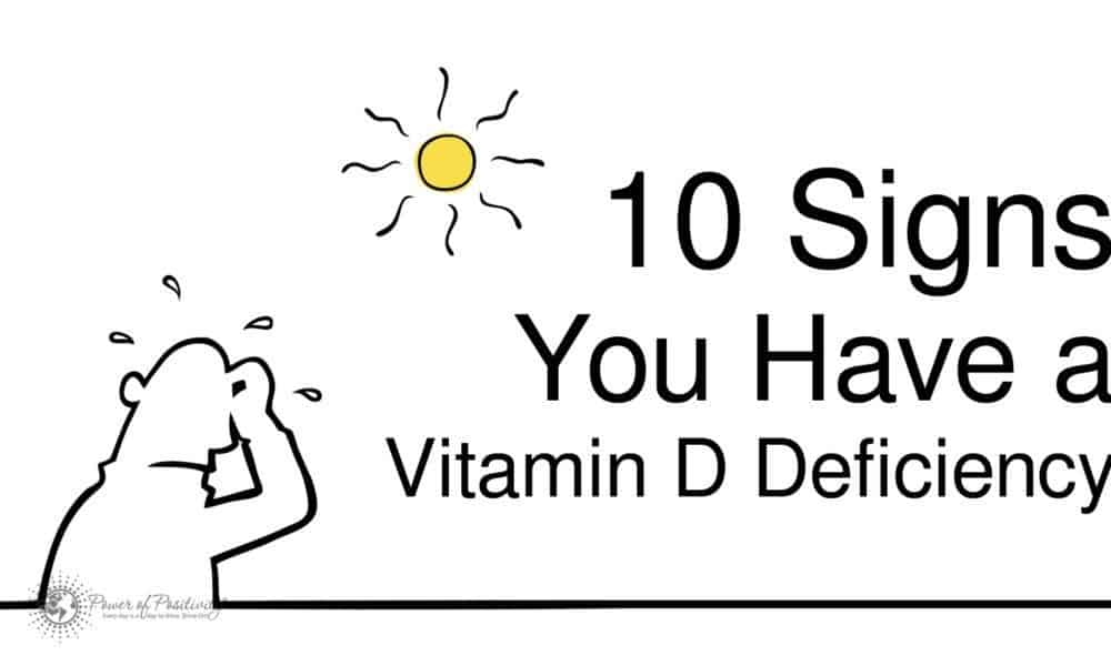 10 Signs You Have a Vitamin D Deficiency