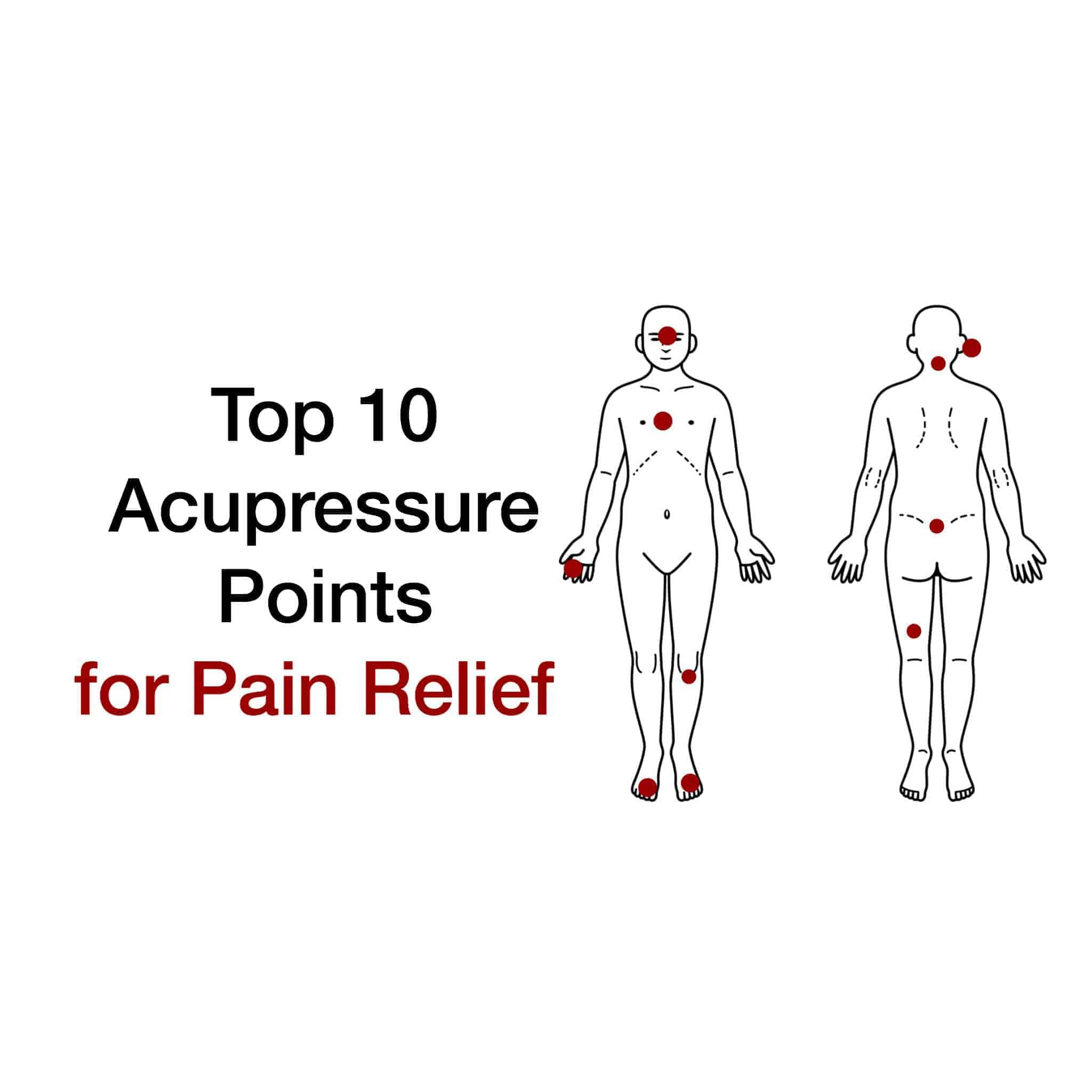 acupressure diagram of pressure points qwerty keyboard worksheet top 10 for pain relief