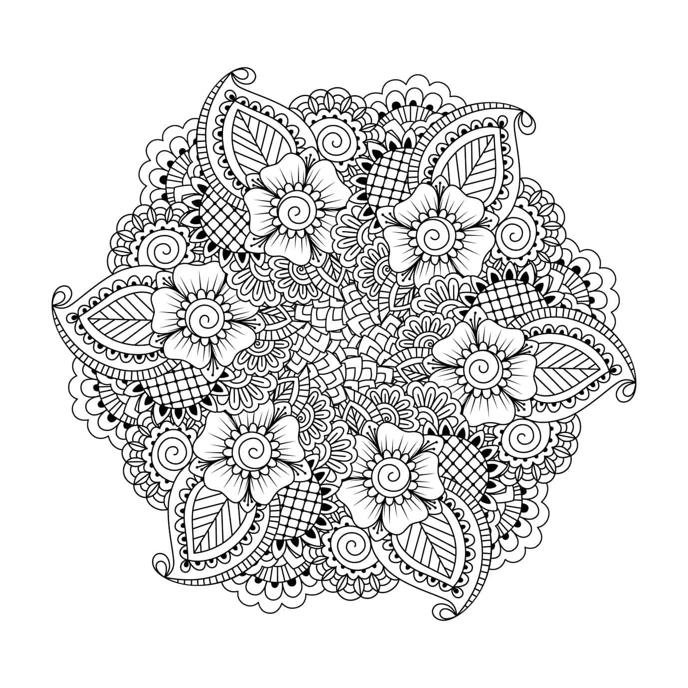 Fliegender Teppich Zum Ausmalen These Printable Abstract Coloring Pages Relieve Stress And