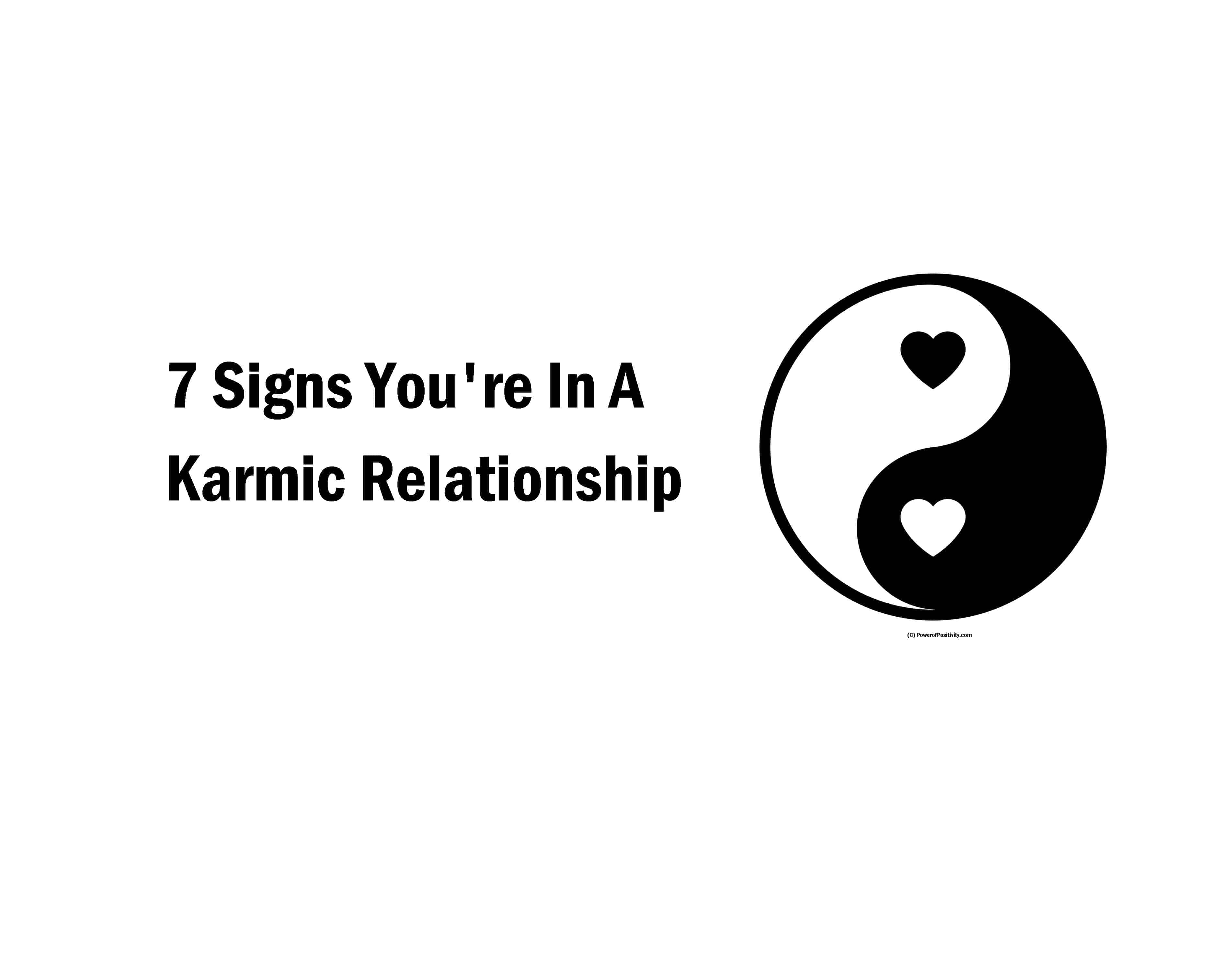 7 Signs You're In A Karmic Relationship