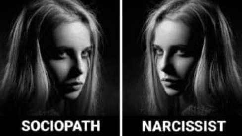sociopath vs narcissism