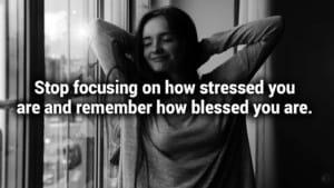 Positive affirmation to stop noisy mind