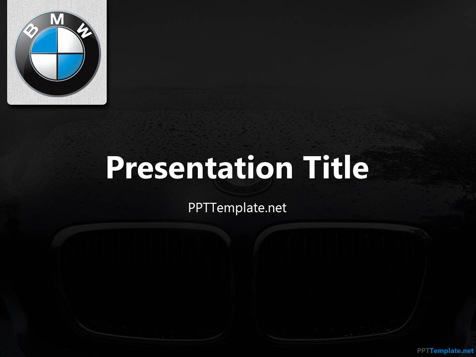 free bmw ppt template